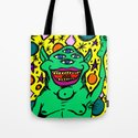 Space Monster Tote Bag