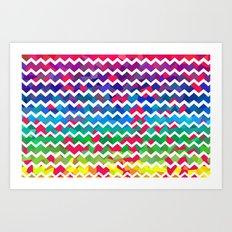 Mixed Colors Art Print