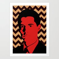 Special Agent Dale Coope… Art Print