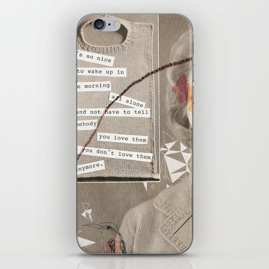 LOVE POEM iPhone & iPod Skin