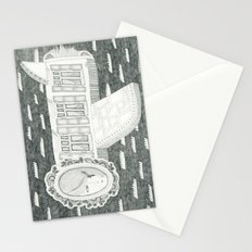 Plane is Home Stationery Cards