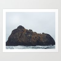 Pfeiffer Beach Art Print