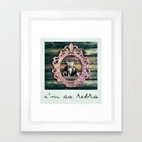We So Retro! Framed Art Print