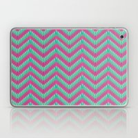 Hot Pink & Mint Laptop & iPad Skin