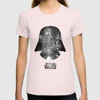 Star Wars - A New Hope Womens Fitted Tee Light Pink SMALL