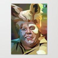 Barf Canvas Print