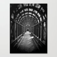 Beyond the Gate... Canvas Print