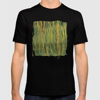 Golden Light Mens Fitted Tee Black SMALL