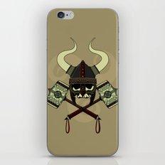 Viking Skull iPhone & iPod Skin