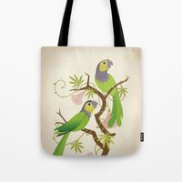 Black-capped conure Tote Bag