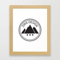 Drix Design Framed Art Print