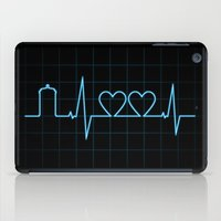 Two Heartbeats iPad Case