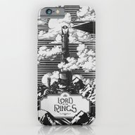 Lord Of The Rings Mordor… iPhone 6 Slim Case