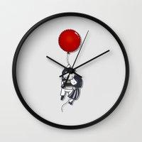 Grab On Wall Clock