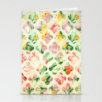 Clover Round Stationery Cards