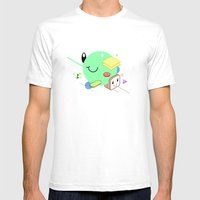 Tasty Visuals - Sandwich… Mens Fitted Tee White SMALL