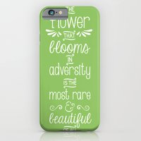 iPhone & iPod Case featuring Mulan by Typequotsters