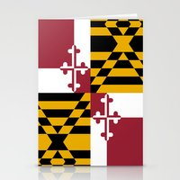 State flag of Flag of Maryland - Authentic version Stationery Cards