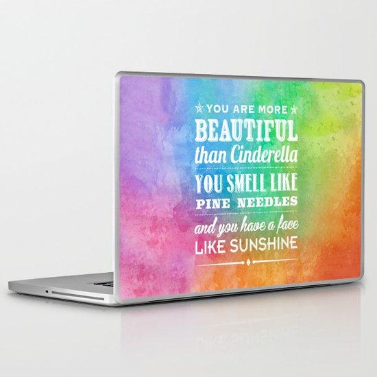 Sunshine Face Laptop & iPad Skin