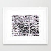 Surrender Your Informati… Framed Art Print