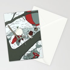 Todd Climbs a Tree Stationery Cards