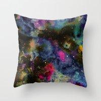 Intergalactic Planetary Throw Pillow