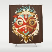 The Days Of Gods And Dem… Shower Curtain