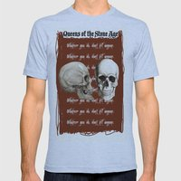 Lost Art of Keeping A Secret Mens Fitted Tee Athletic Blue SMALL