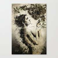 7 Of Pentacles Canvas Print