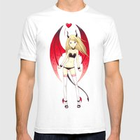 Succubus Mens Fitted Tee White SMALL