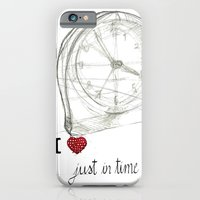 iPhone & iPod Case featuring Just in time by G. Cicero