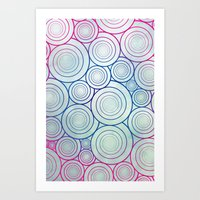A Plethora Of Curls Art Print