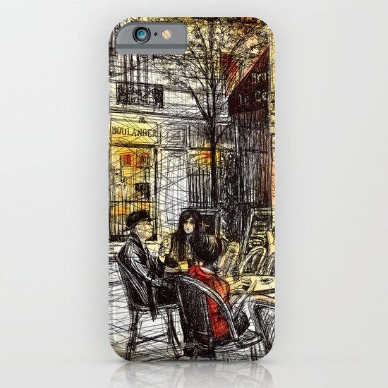Montmartre IX in colour iPhone & iPod Case