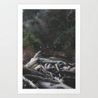 Indian Beach Oregon Art Print