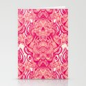 wallpaper skulls Stationery Cards