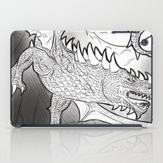 Black Dragon iPad Case