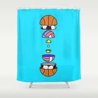 Big Balls Shower Curtain