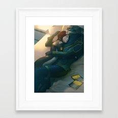 Mass Effect : Bad Dream Framed Art Print