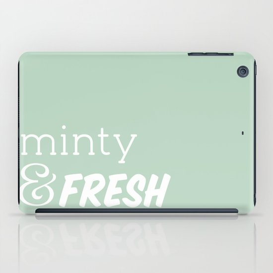 Minty Fresh iPad Case