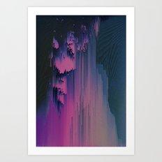 Pink Fringe Art Print