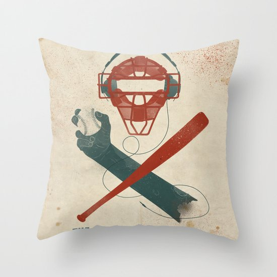 The Battery Throw Pillow