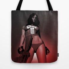 Lady Punisher Tote Bag