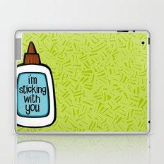 sticking with you Laptop & iPad Skin