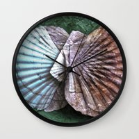 Archetypal Maritime Structures Wall Clock