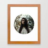 Shame on me (version 2.0) Framed Art Print