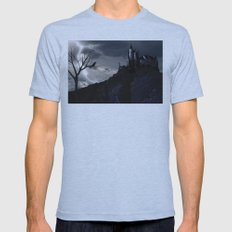 Mystery on the Hill Mens Fitted Tee Athletic Blue SMALL