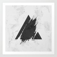 PLACE Triangle Art Print