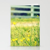 Just a Country Girl... Stationery Cards
