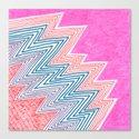 ZagaZag Canvas Print