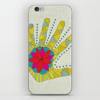 Flower Hand iPhone & iPod Skin
